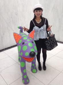 名古屋市美術館から美女と野獣